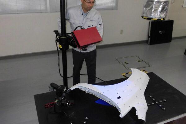 3Dリバースエンジニアリング測定