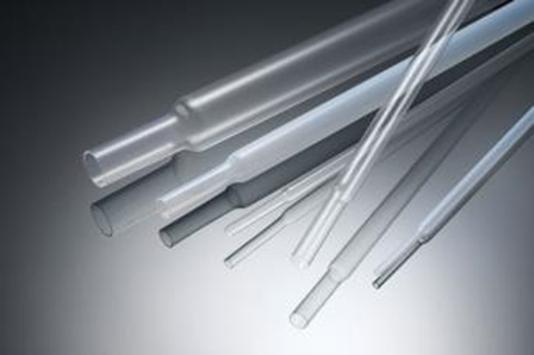 FEP,PFA製の熱収縮チューブ:対象物に被覆させることで、低摩擦、耐薬品、耐熱性等を付与できます。